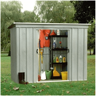 The Yardmaster 104PZ Pent Metal Shed