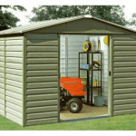 The Yardmaster 106 Shiplap Metal Shed