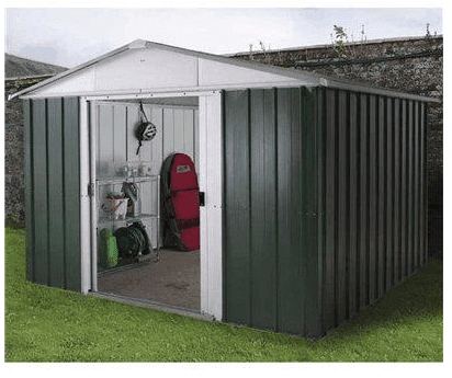 The Yardmaster 66GEYZ Metal Shed