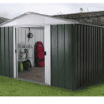 The Yardmaster 67GEYZ Metal Shed