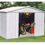 The Yardmaster 68 ZGEY Metal Shed