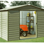 The Yardmaster 86SL Metal Shed