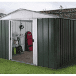 The Yardmaster 87GEYZ Metal Shed
