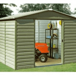 The Yardmaster Metal Shed 1012SL