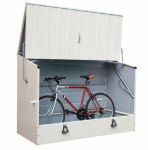 Trimetals Bike Shed Cream