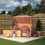 Wooden Garden Storage Chest