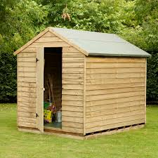 Pressure Treated Windowless Shed