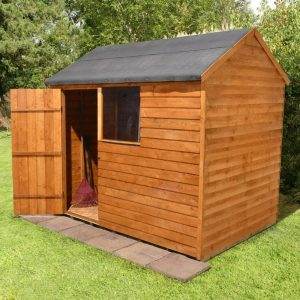 Reverse Roof Shed