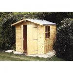 Double Door Shiplap Wooden Shed