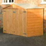 7X3 Shiplap Wooden Bike Store Blooma