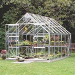 B&Q Toughened Glass Greenhouse