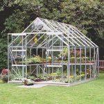 B&Q Toughened Glass Greenhouse