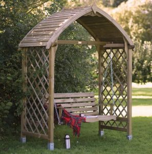 Blooma Barmouth Timber Swing Arbour