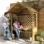 Blooma Barmouth Wooden BBQ Arbour Other Design