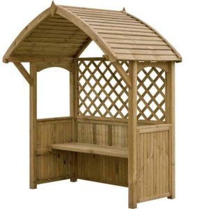 Blooma Barmouth Wooden BBQ Arbour Other Design empty