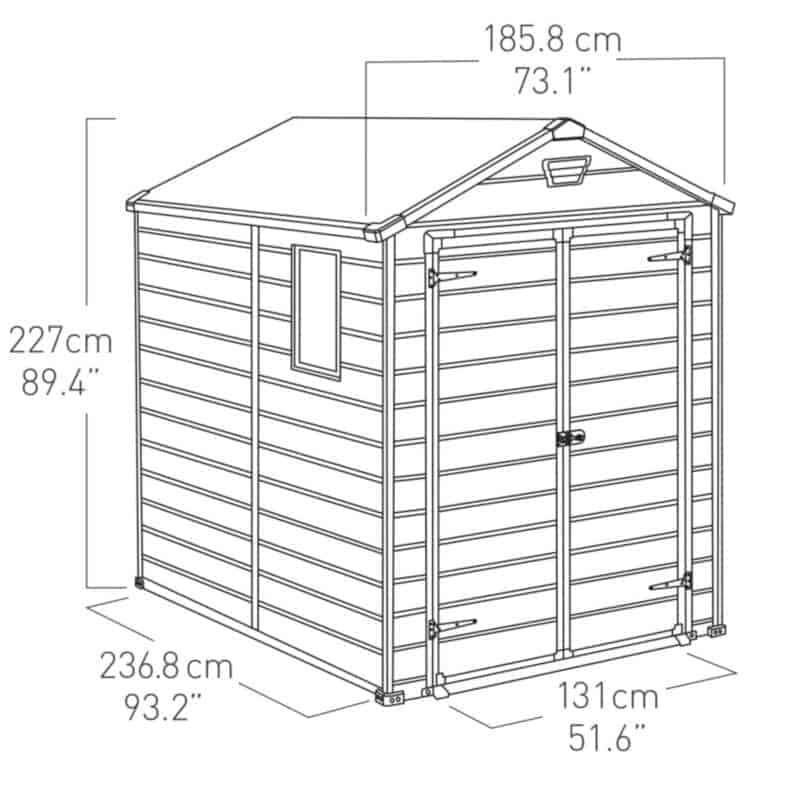 how to build a shed door out of plywood