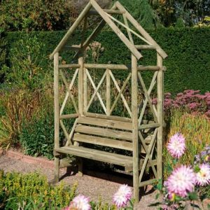 Blooma Cottage Wooden Arbour
