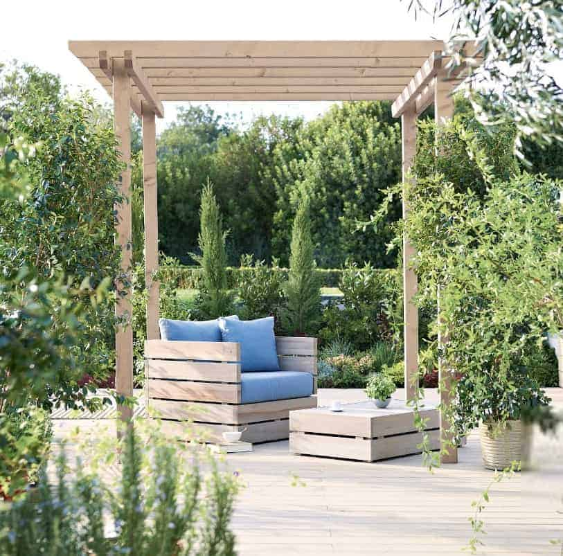 Blooma Rafter Wooden Pergola