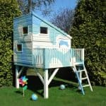 Command Post 6X4 Playhouse Blue Camo Colour