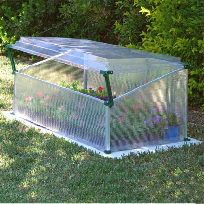 Double Cold Frame Polycarbonate Glazing