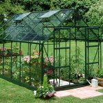 Green Frame Horticultural Greenhouse