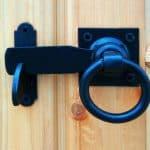 Hampton 10X10 Shiplap Timber Summerhouse Door Handle