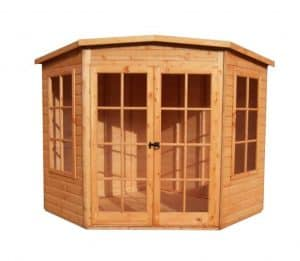 Hampton 10X10 Shiplap Timber Summerhouse Unpainted
