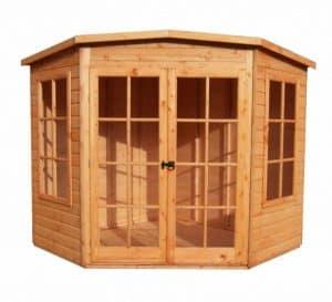 Hampton 7 X 7 Shiplap Timber Summerhouse Unpainted