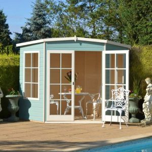 Hampton 7X7 Shiplap Timber Summerhouse
