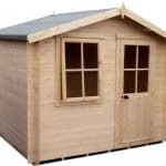 Hartley 10X10 19mm Tongue & Groove Timber Log Cabin Unpainted