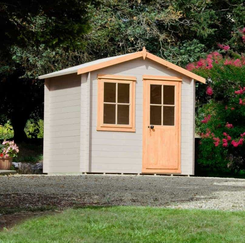 Hartley 8X6 Tongue And Groove Timber Log Cabin With