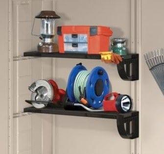 keter factor plastic garden shed 8x8 rh whatshed co uk keter 4x6 shed shelves keter sheds shelf accessory kits uk