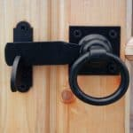 Lumley 7X5 Shiplap Timber Summerhouse Door Lock Security