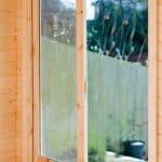 Marlborough 10X10 28mm Tongue & Groove Timber Log Cabin Door