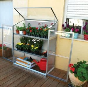 Palram Plastic Grow Station All Doors Open