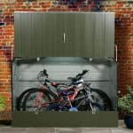Protectacycle 7X3 Metal Bike Store