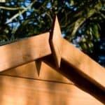 Shire Blenheim Shiplap Wooden Summerhouse with Bi-Fold Doors Apex Roof