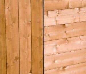 Shire Blenheim Shiplap Wooden Summerhouse with Bi-Fold Doors Cladding