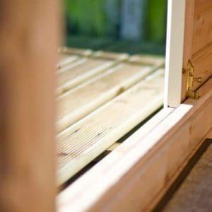 Shire Elveden Log Cabin 26X14 lock