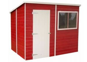 Shire Shiplap Pent Roof Wooden Shed 8 x 6