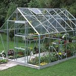 Silver Frame Horticultural Greenhouse