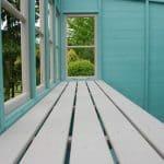 Sun 8X6 Shiplap Timber Summerhouse Cladding and Treatment