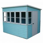 Sun 8X6 Shiplap Timber Summerhouse Overall View