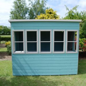 Sun 8X6 Shiplap Timber Summerhouse Windows