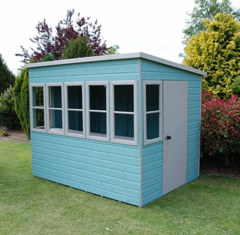 Sun 8X6 Shiplap Timber Summerhouse