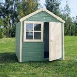 Woodbury 4X4 Playhouse Green Colour