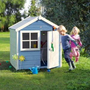 Woodbury 4X4 Playhouse Kids at Play