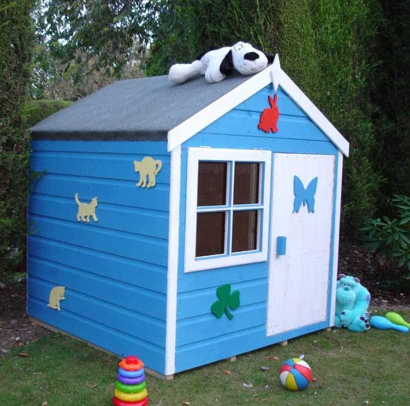 Woodbury 4X4 Playhouse