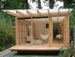 Summer shed design