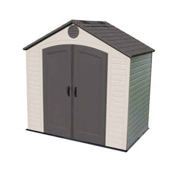 8 X 5 Lifetime Plastic Outdoor Storage Shed